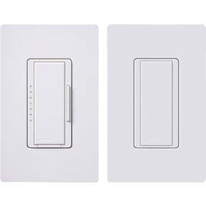 Lutron MACL-153M-RHW-WH Digital Slide Dimmer Switch Kit-DIGITAL DIMMER KIT