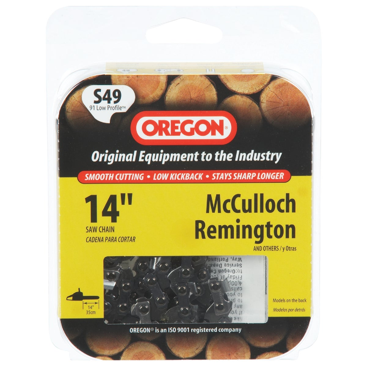 """Oregon S49 Replacement Chainsaw Chain Loops-14"""" REPL SAW CHAIN at Sears.com"""