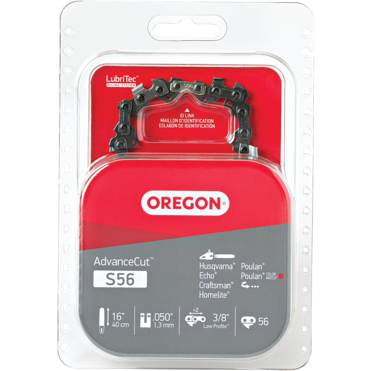 """Oregon S56 Replacement Chainsaw Chain Loops-16"""" REPL SAW CHAIN at Sears.com"""