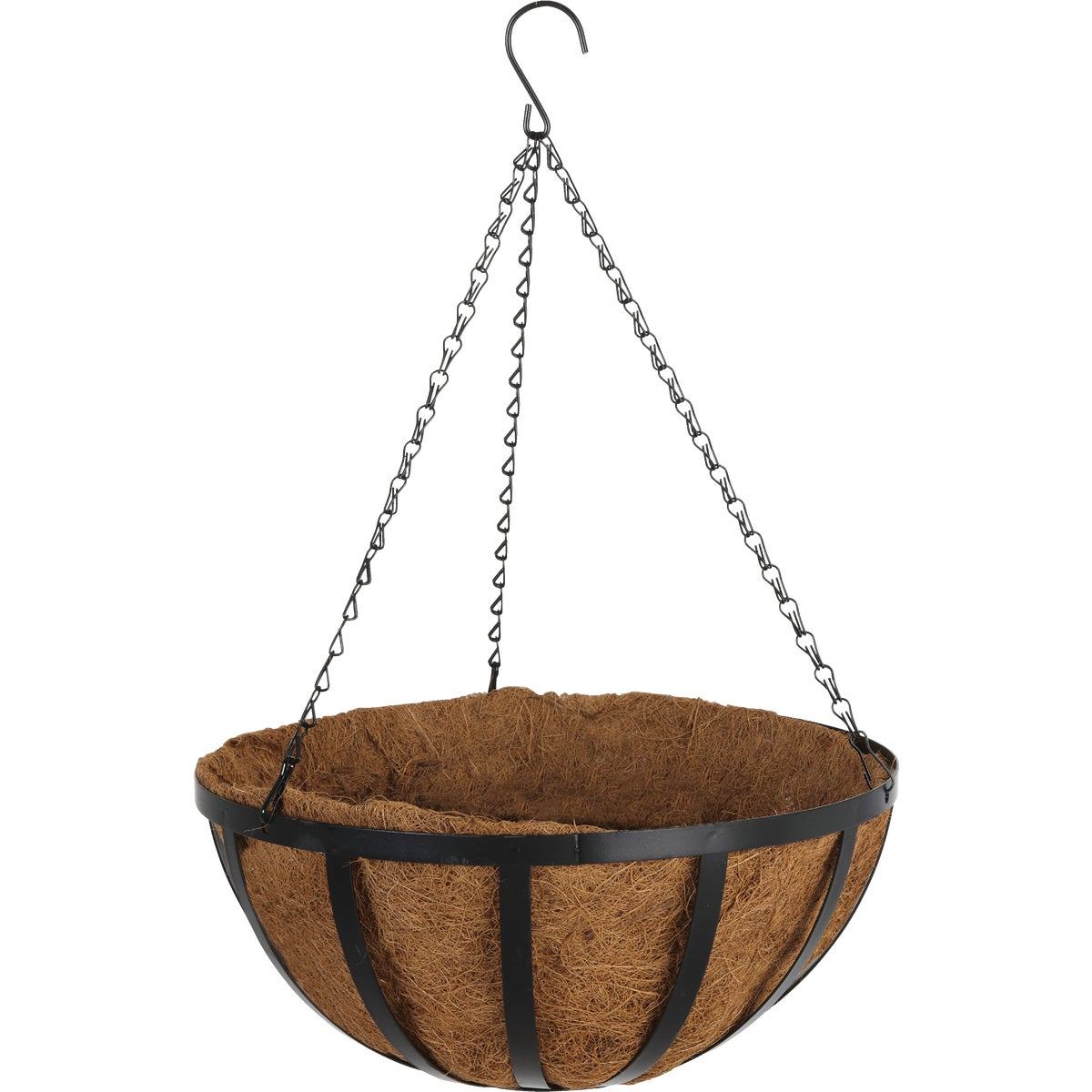 "Woodstream HPF14-B English Style Hanging Plant Basket-14"" HANGING BASKET"