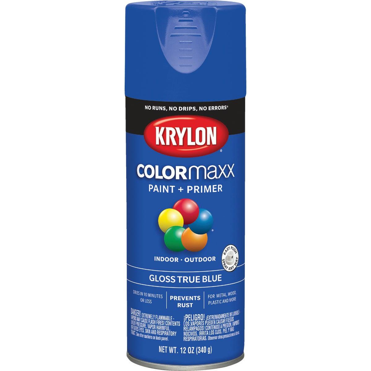 Krylon/Consumer Div ColorMaster Decorator Indoor/Outdoor Spray Paint-GLS TRU BLUE SPRAY PAINT