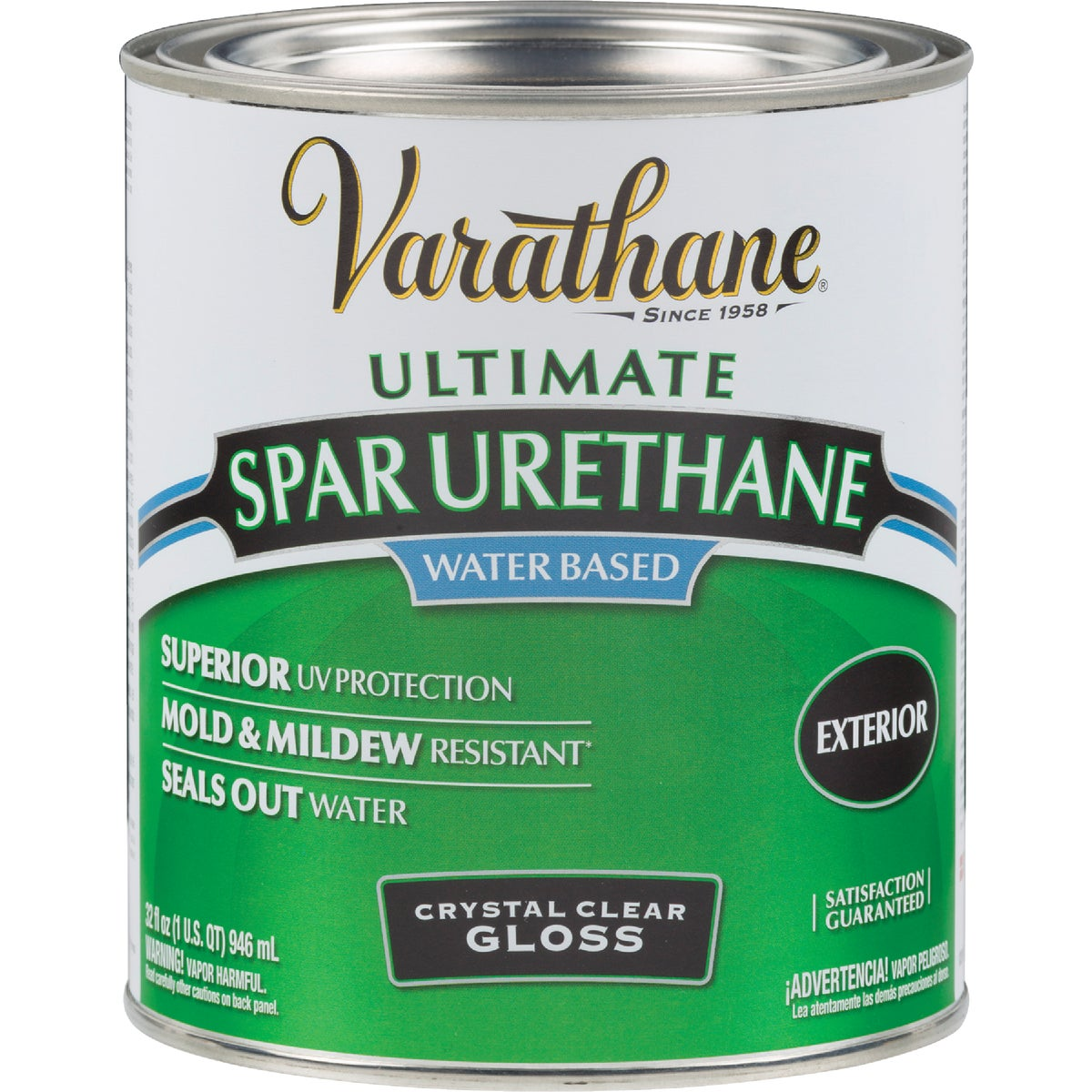 Varathane Water Based Exterior Spar Varnish Gls W B Spar