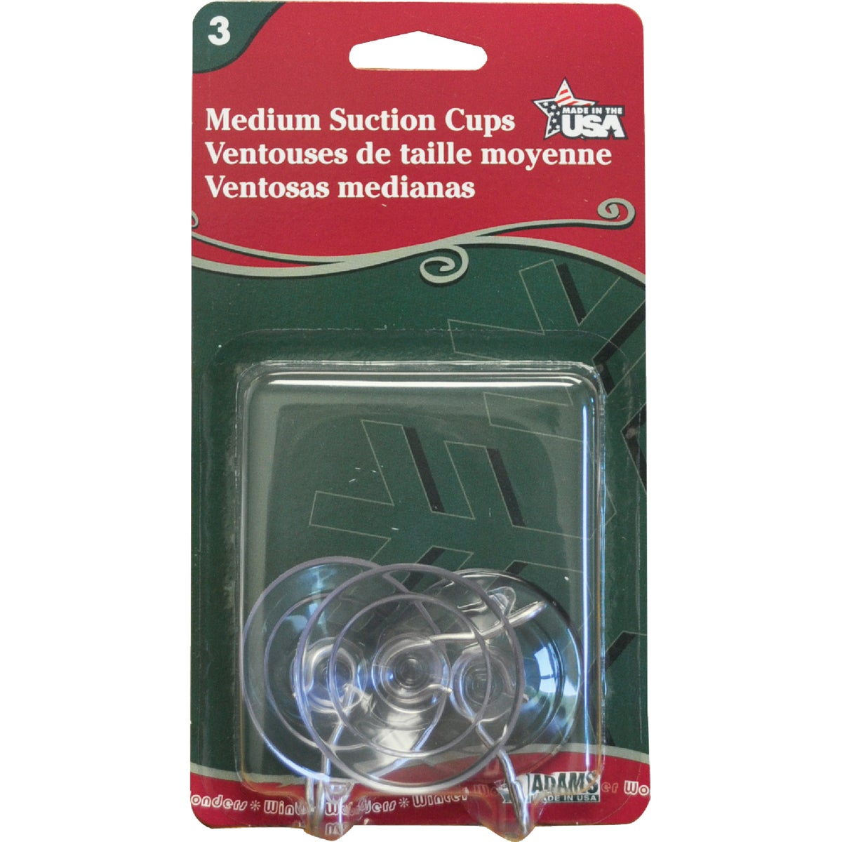"""Adams Mfg./Christmas 6500-74-1043 Suction Cups With Hook-1.75"""" MED SUCTION CUP at Sears.com"""