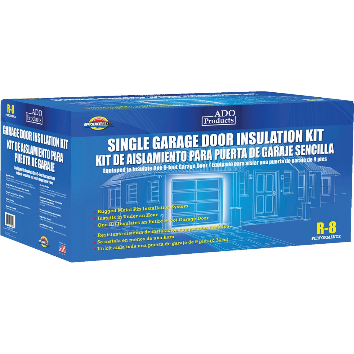 GARAGE DOOR INSULATION - GDIKS by Ado Products