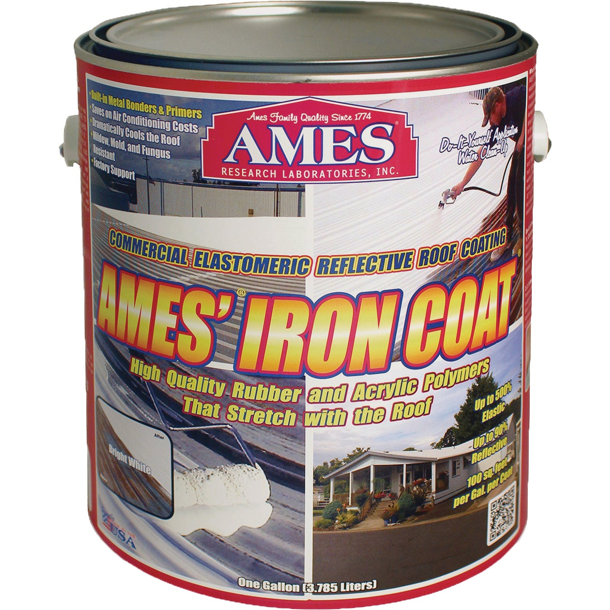 1GL IRON COAT RF COATING - IC1 by Ames Research Lab