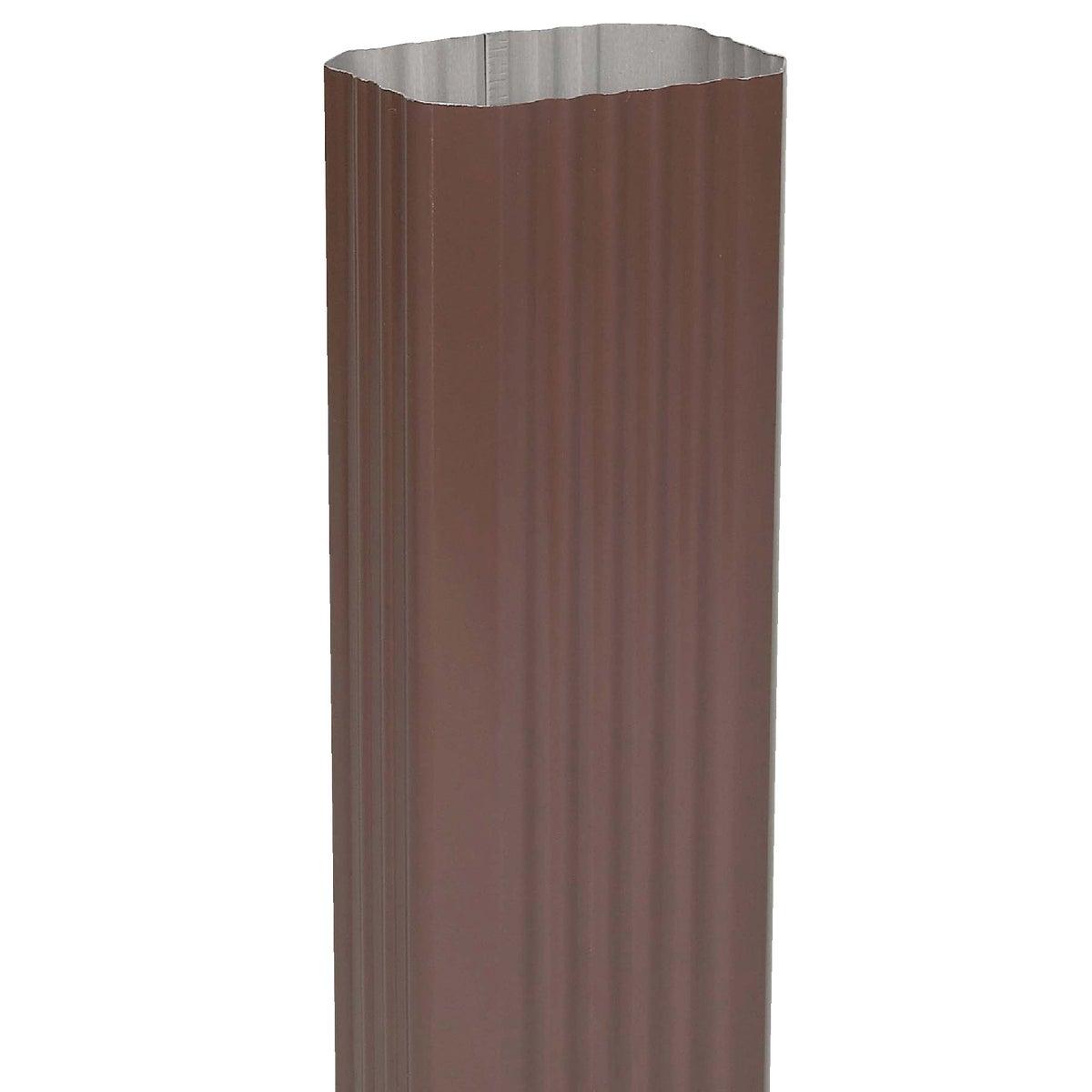 3X4 Brown Downspout