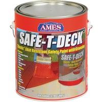Ames Safe-T-Deck Elastomeric Waterproofing Sealer Deck Paint, SD1GY