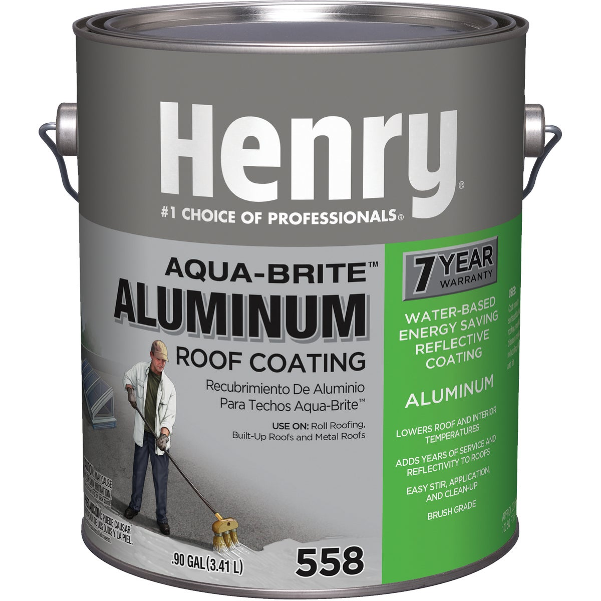 GAL ALUM ROOF COATING - HE558107 by Henry Company