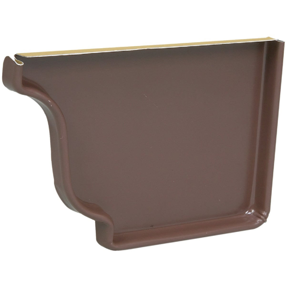 BROWN RIGHT END CAP - 2520619 by Amerimax Home Prod