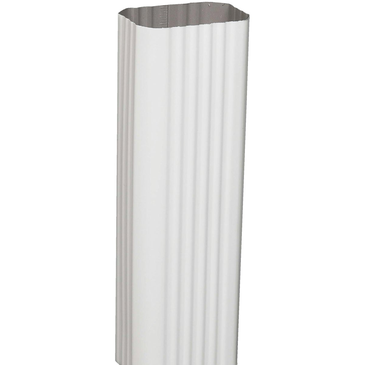 2X3 WHITE ALUM DOWNSPOUT - 2601000120 by Amerimax Home Prod