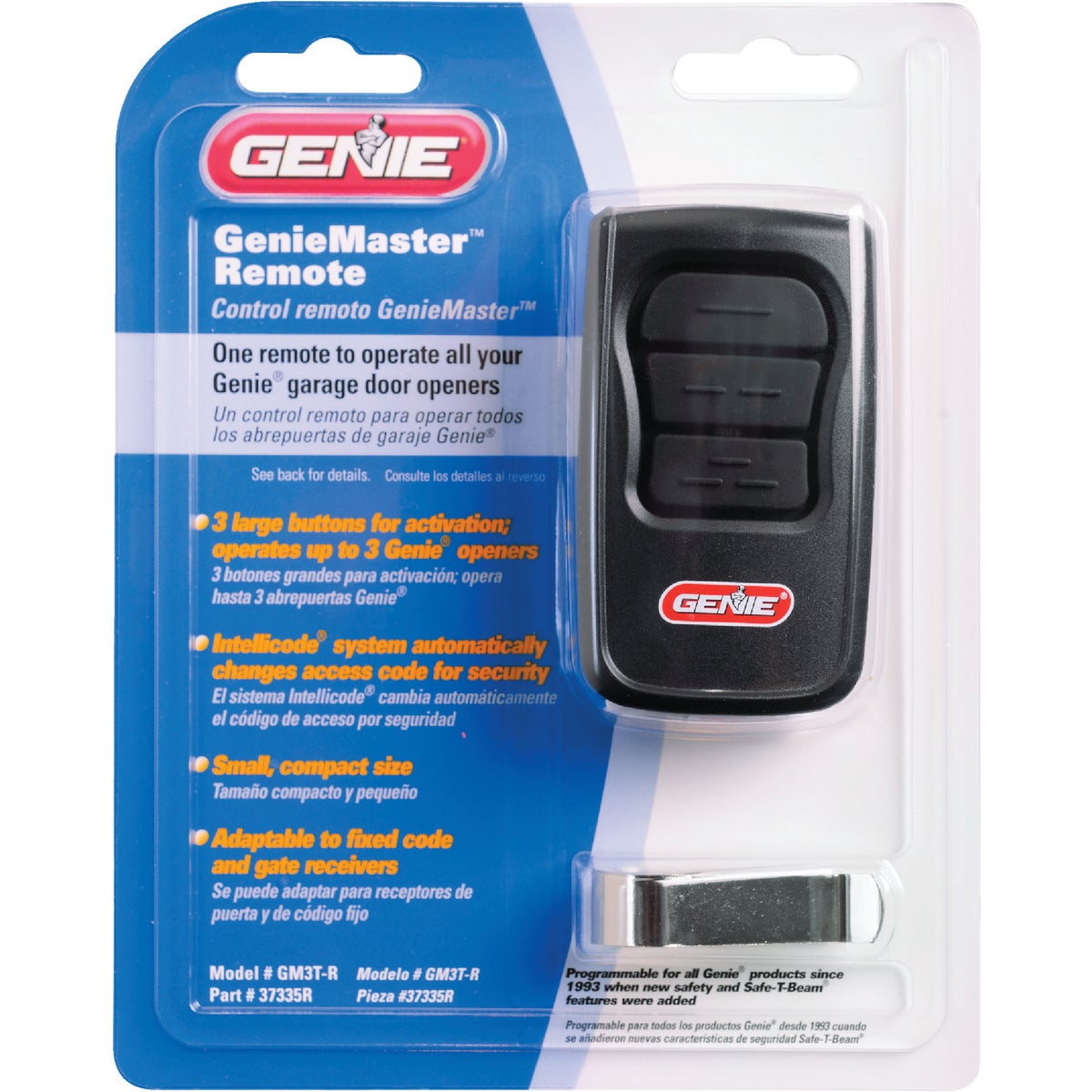 MASTER GARAGE DR REMOTE