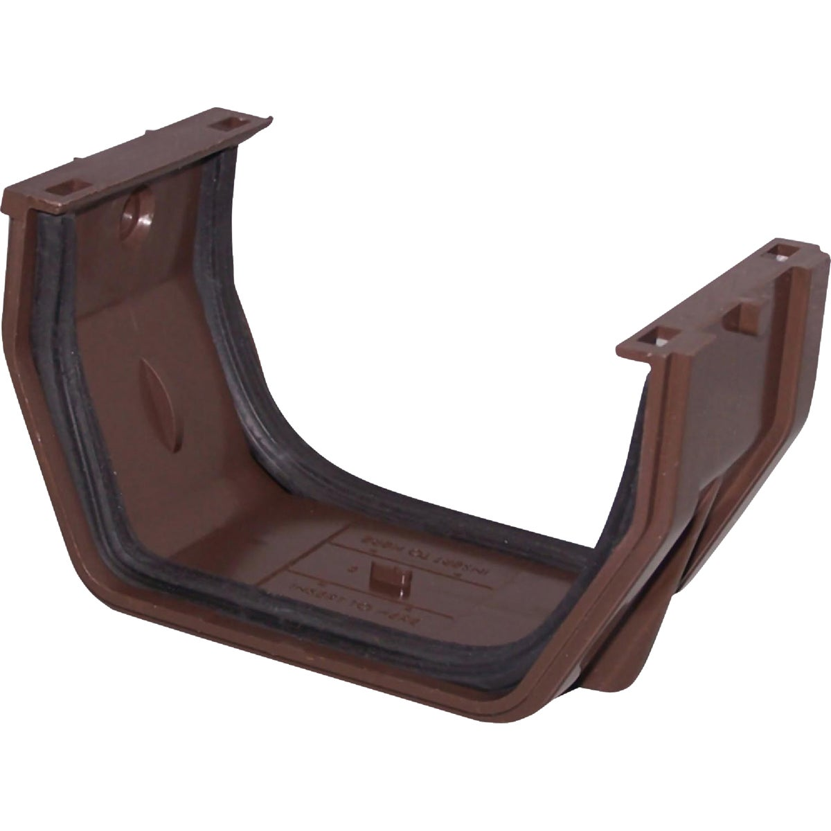 BRN SLIP JOINT GUTTER - RB105 by Genova Products