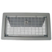 Foundation Vent with Damper, 500WH