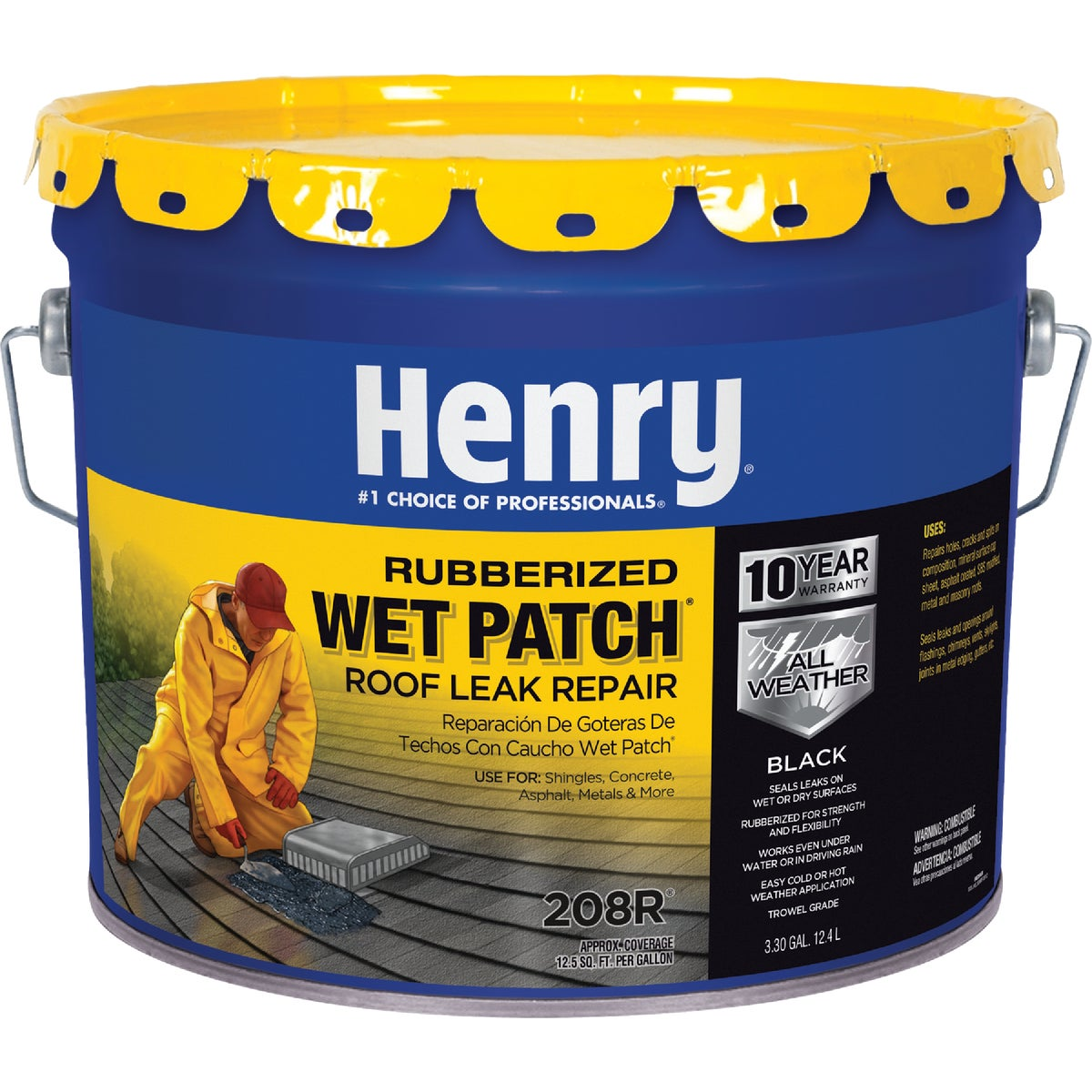 3.5GL RB WET PTCH CEMENT - HE208R061 by Henry Company