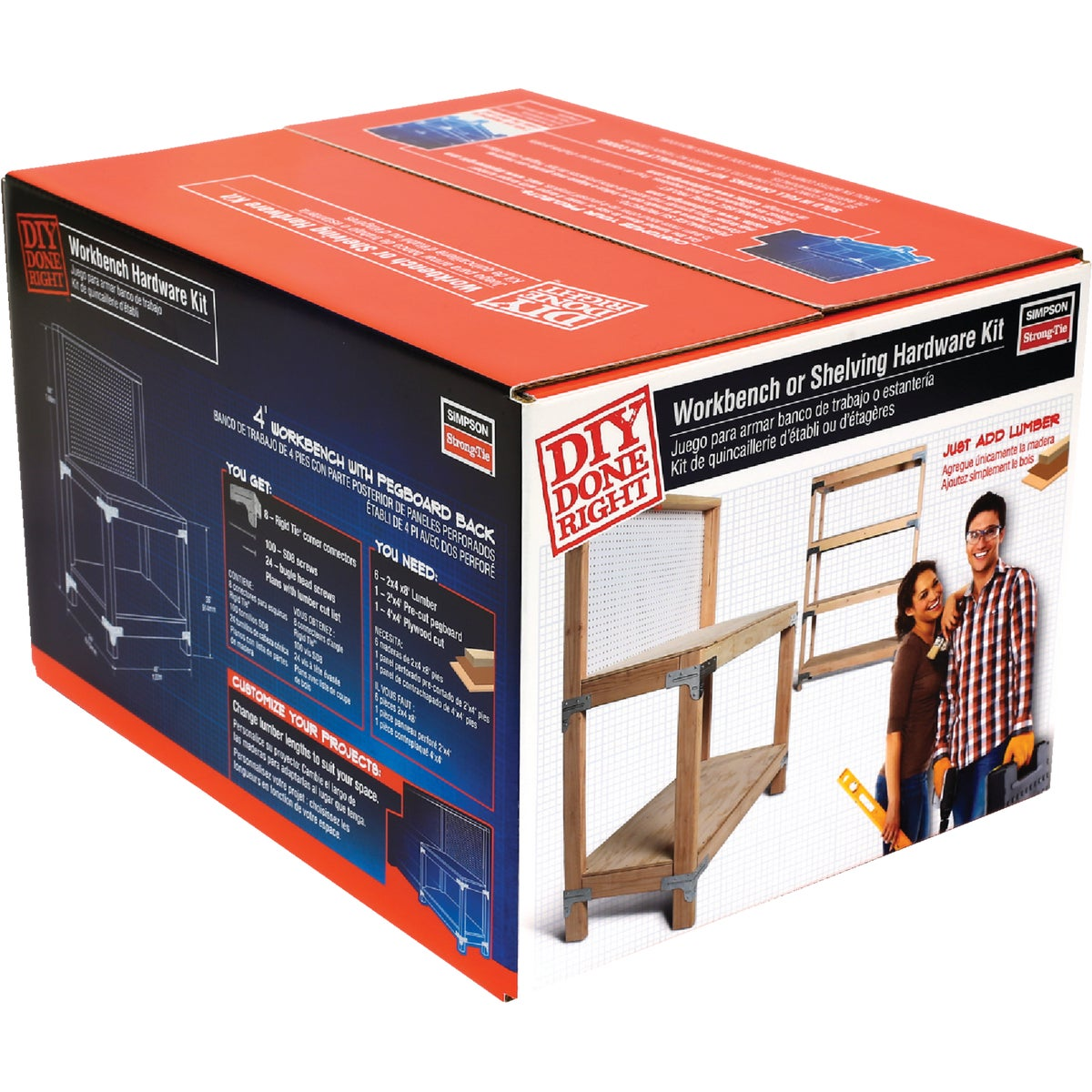 WORKBENCH SHELVING KIT - WBSK by Simpson Strong Tie