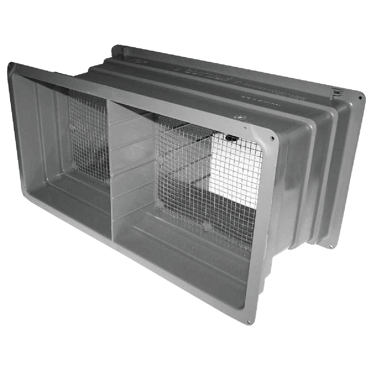 "8"" PLST FOUNDATION VENT - 559027 by Noll/norwesco Llc"