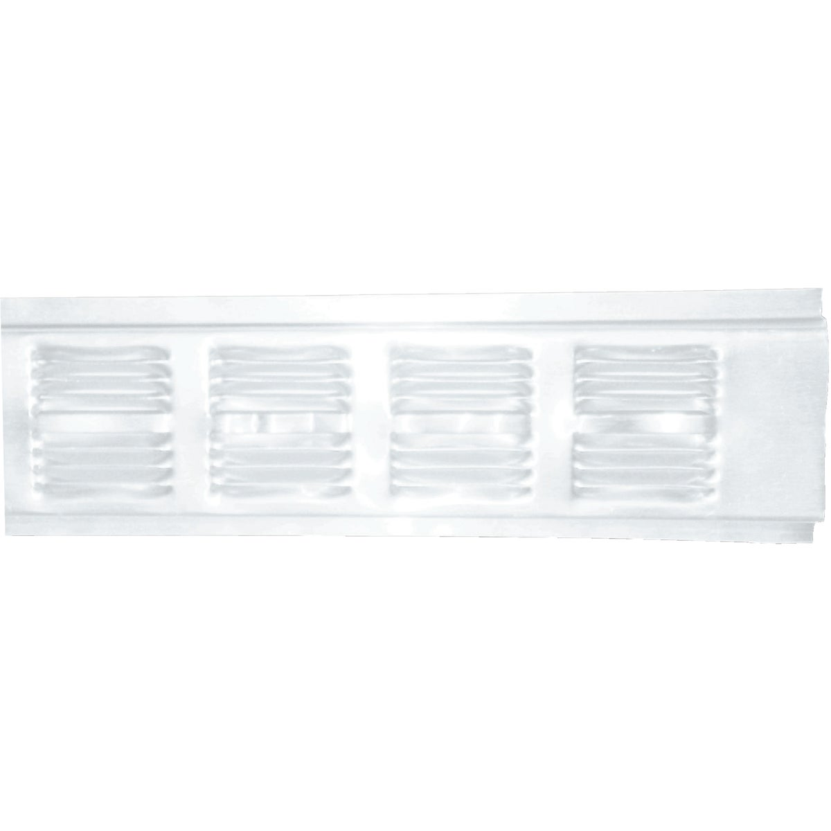 8' WHT ALUM SOFFIT VENT - 84302 by Air Vent Inc