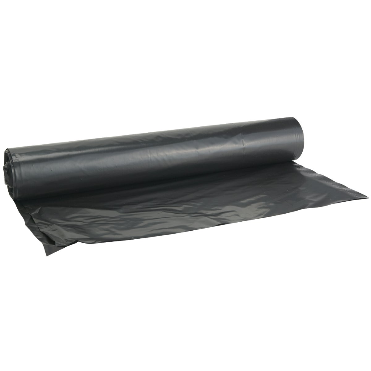 8X100 4MIL BLK POLY FILM - 625903 by Berry Plastics