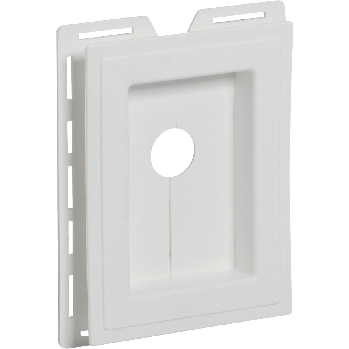 WHITE RECESS J-BLOCK - MBLOCKR PW by Alcoa Home Exteriors
