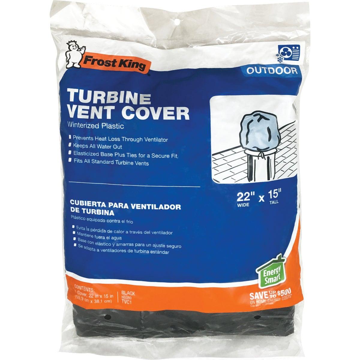 Wind Turbine Attic Vent Cover