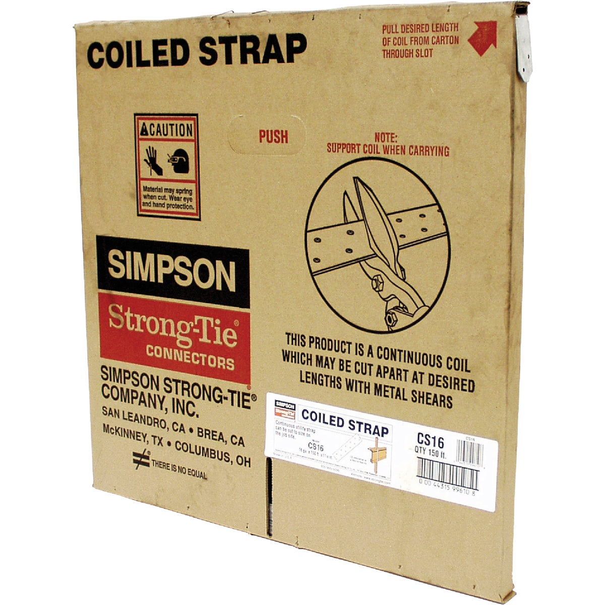 150' 16GA COILED STRAP