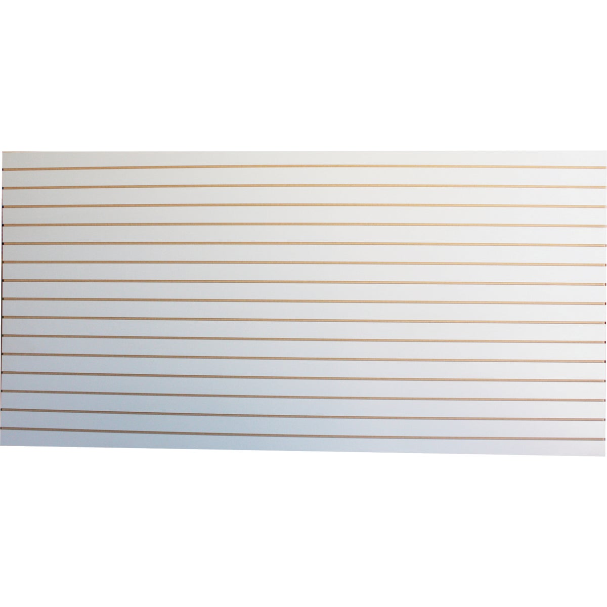 4X8 WHITE SLATWALL - GLLIW01-03S-000 by Garage Escape