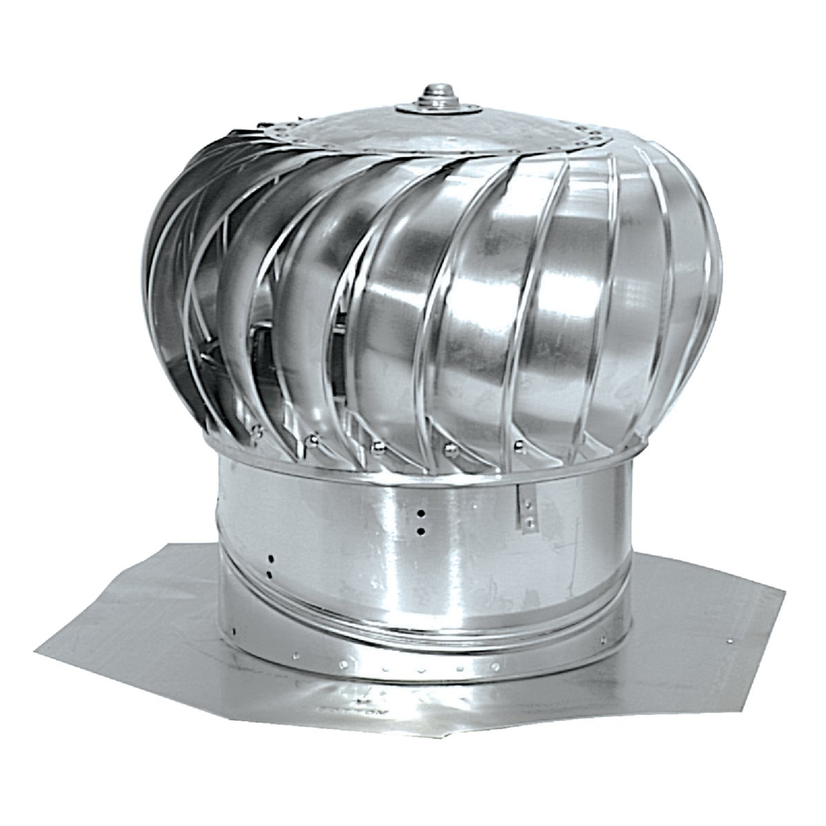 "12"" MIL INT BRC TURBINE - 52103 by Air Vent Inc"