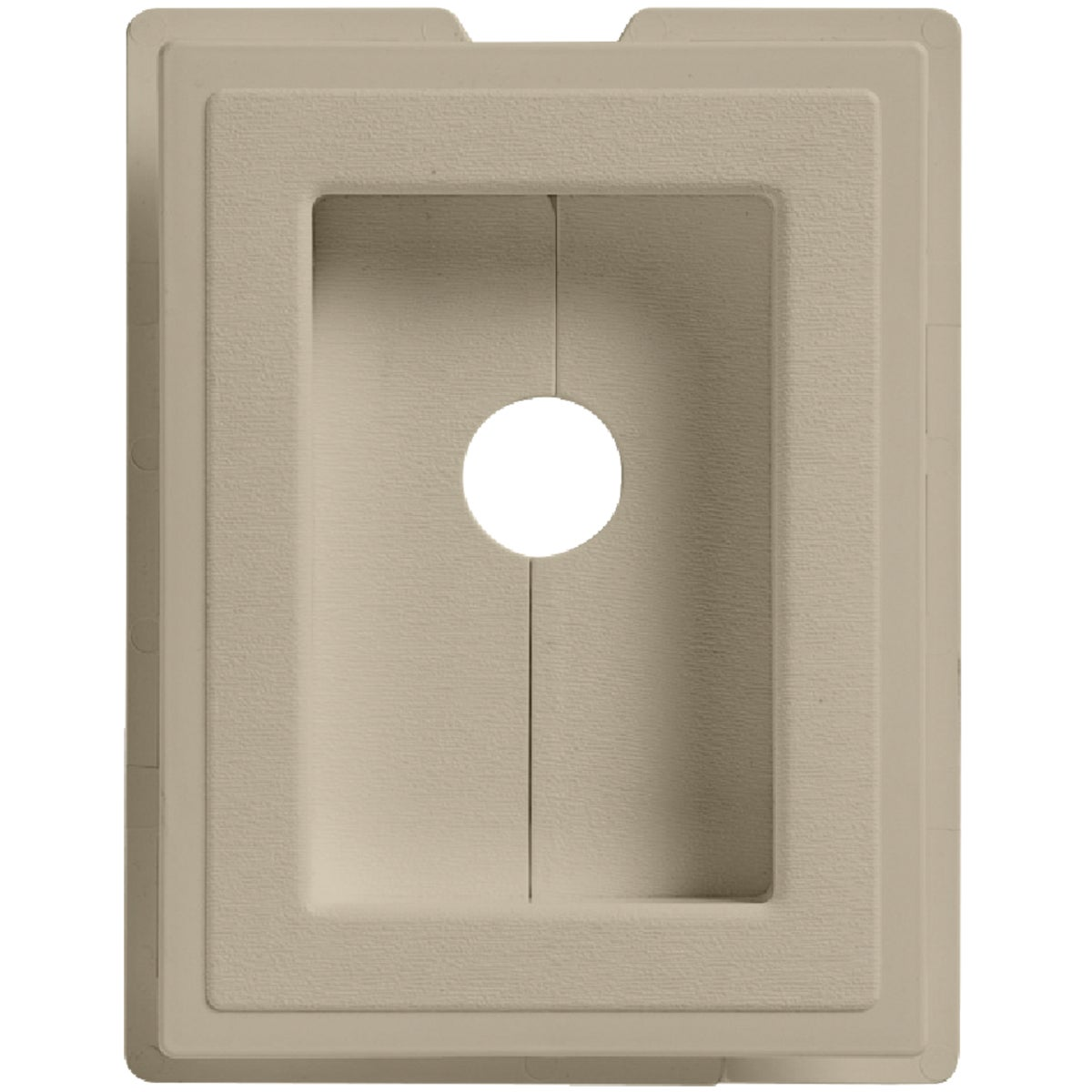 TAN RECESS J-BLOCK - MBLOCKR A7 by Alcoa Home Exteriors