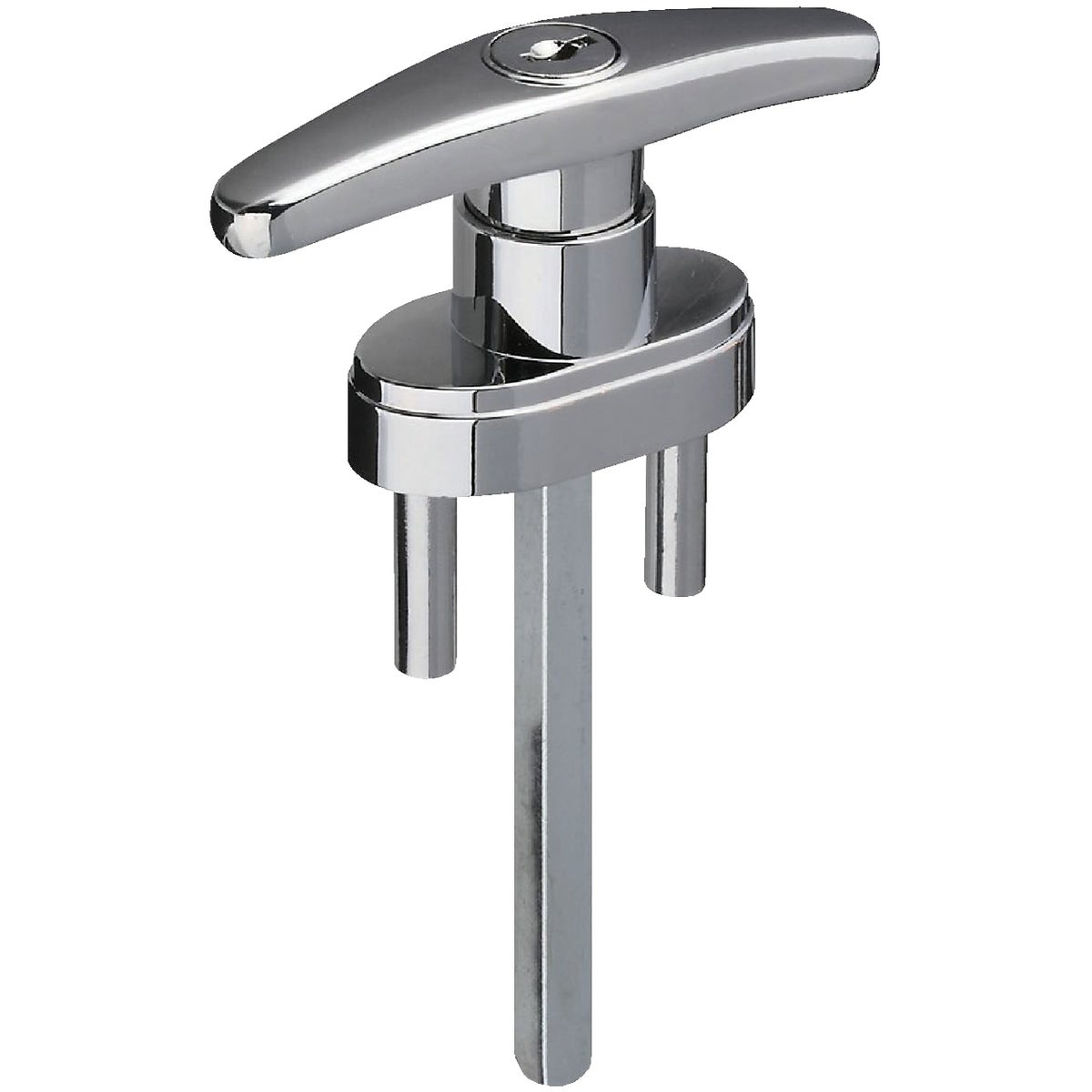 CHROME LOCKING T-HANDLE