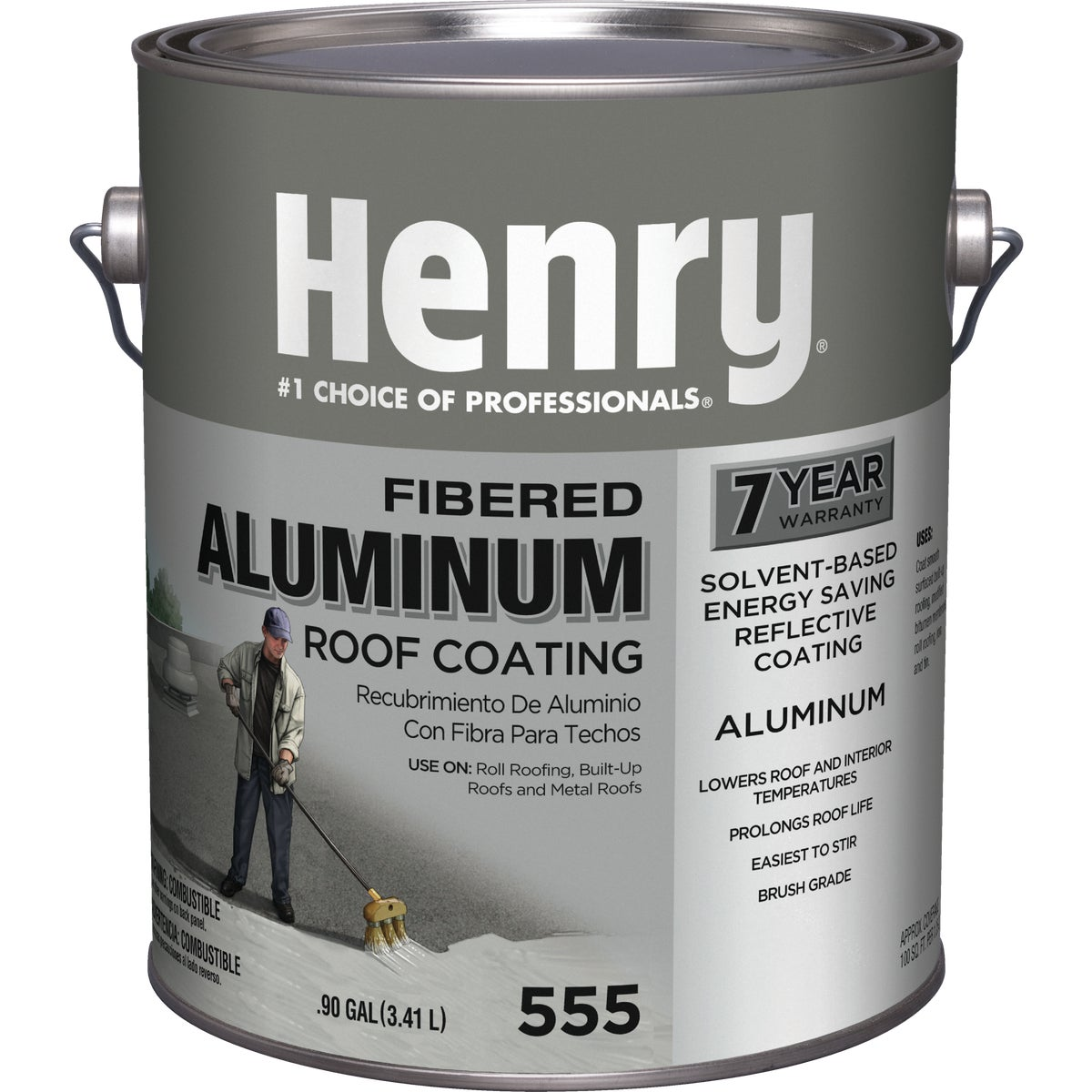GAL ALUMINUM RF COATING - HE555042 by Henry Company