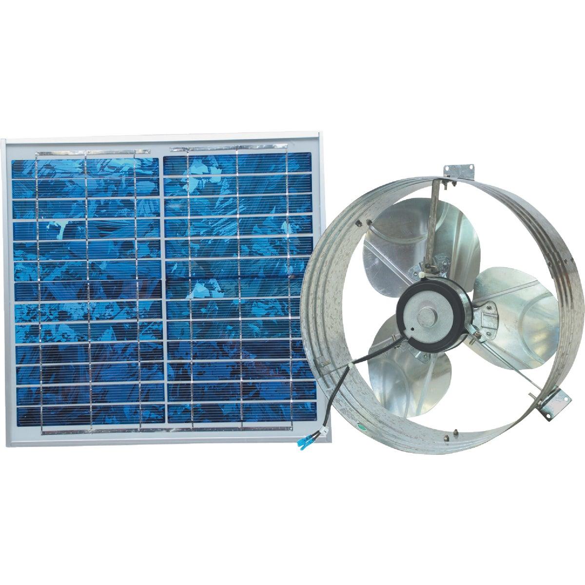 Solar Roof & Gable Attic Vent