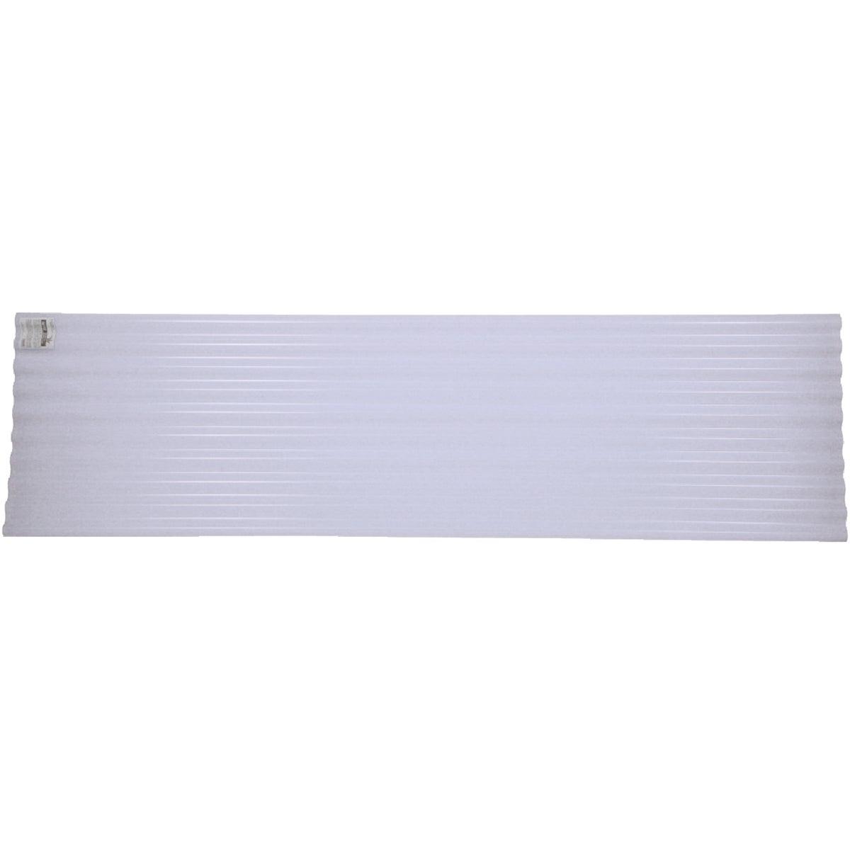 8' CLR CORGTD PVC PANEL