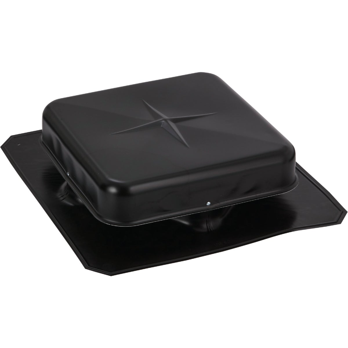 "50""BLK ALUM SQ ROOF VENT - 85154 by Air Vent Inc"
