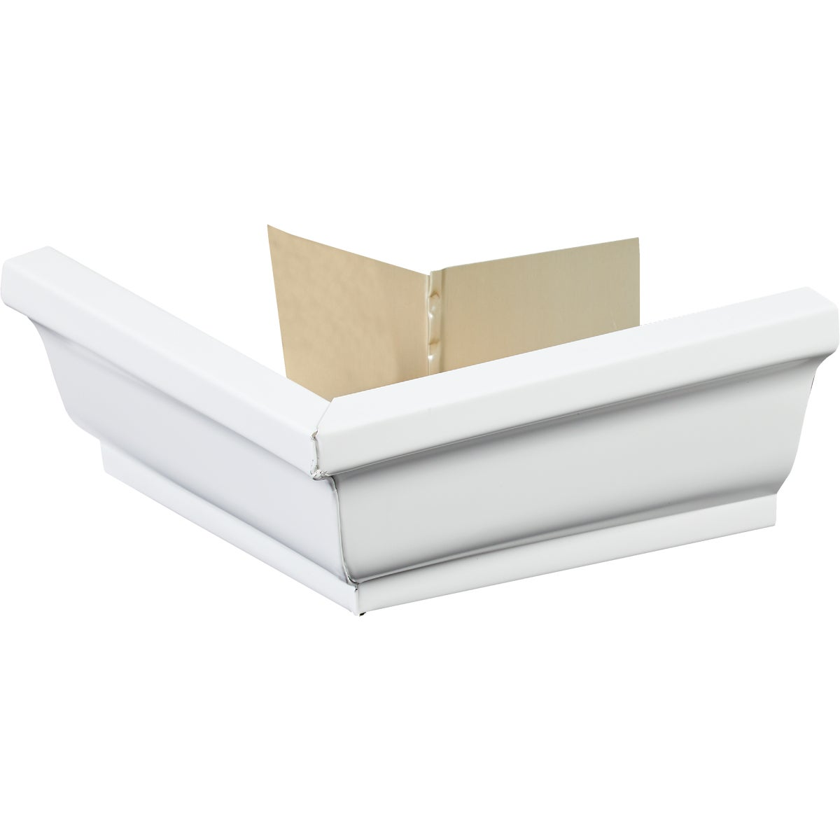 WHITE OUTSIDE MITRE - 27202 by Amerimax Home Prod