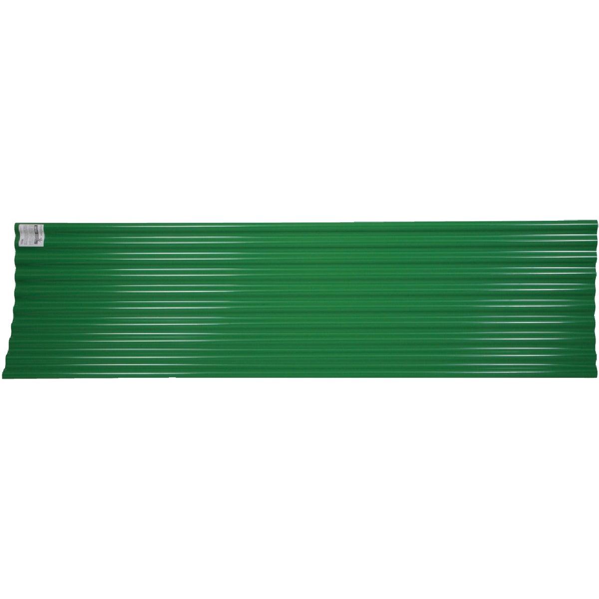 12' GRN CORGTD PVC PANEL