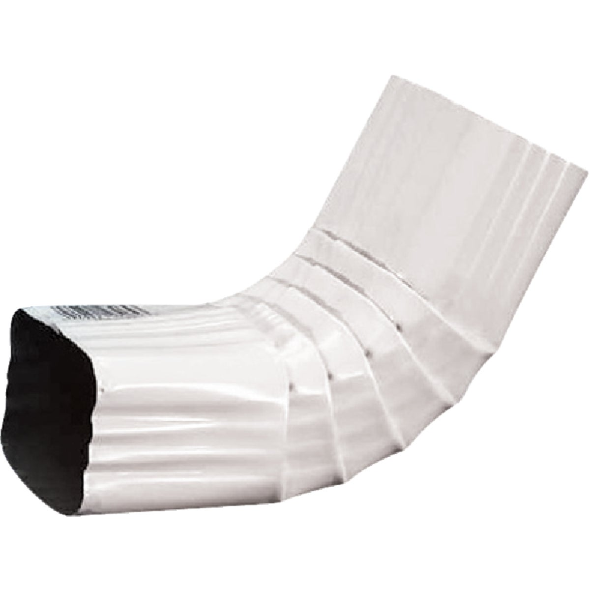 2X3 WHT A-ELBOW - 27064 by Amerimax Home Prod