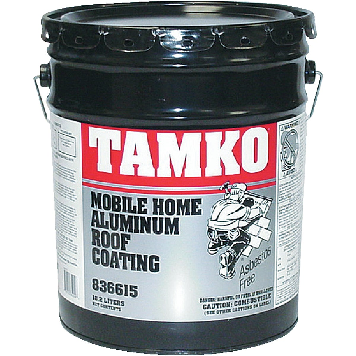 5GAL MBL/HM ROOF COATING - 30001661 by Tamko Bldg Prod Inc