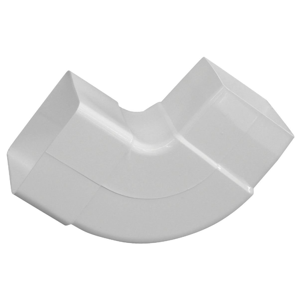 WHT 90DG DOWNSPOUT ELBOW