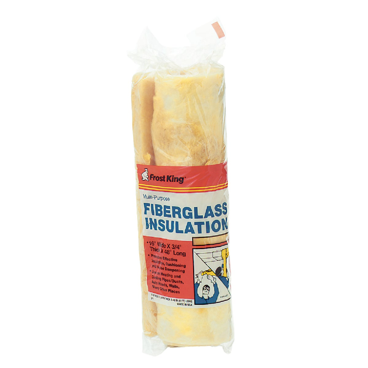 3/4X16X48 INSULATION - SP1 by Thermwell Prods Co