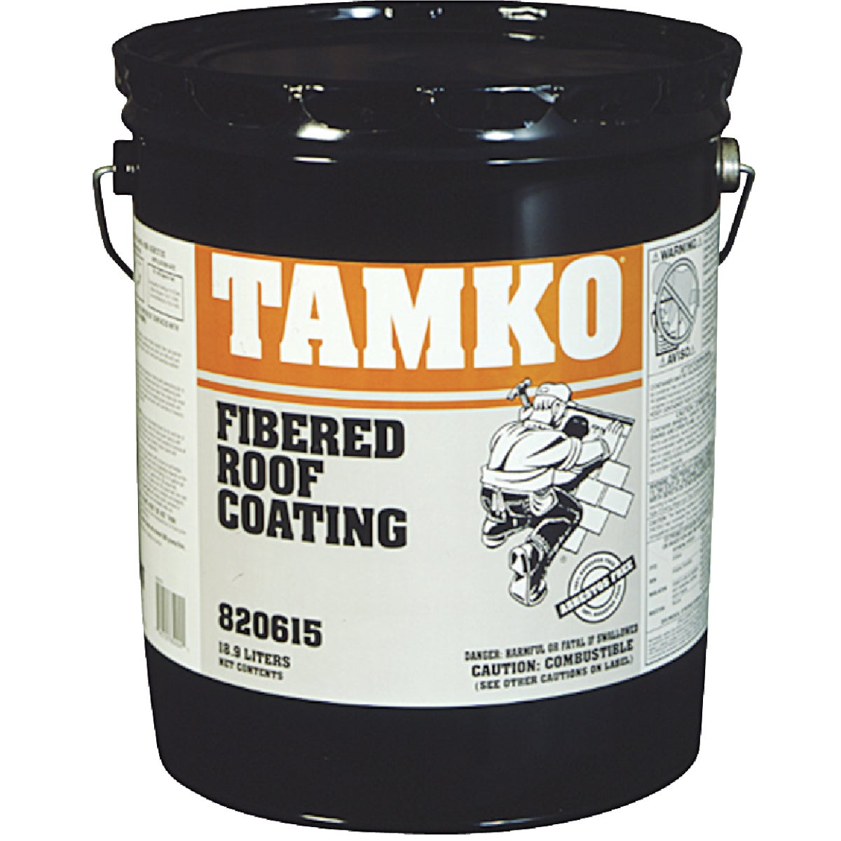 5GAL FIBER ROOF COATING - 30001647 by Tamko Bldg Prod Inc