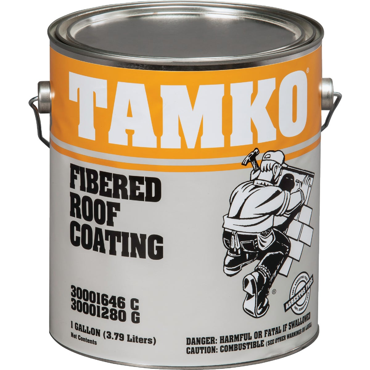 GAL FIBER ROOF COATING - 30001646 by Tamko Bldg Prod Inc
