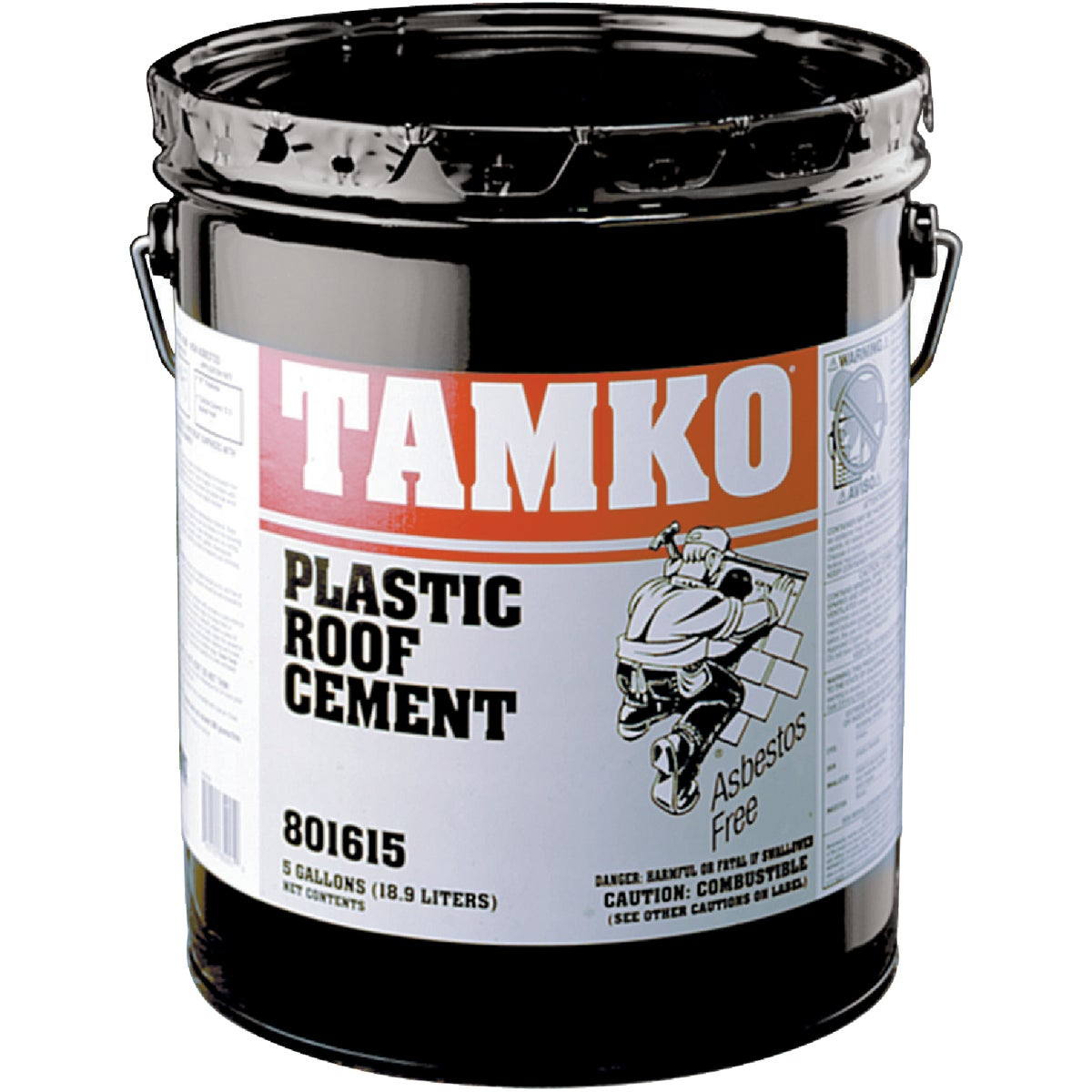 5GAL PLASTIC ROOF CEMENT - 30001611 by Tamko Bldg Prod Inc