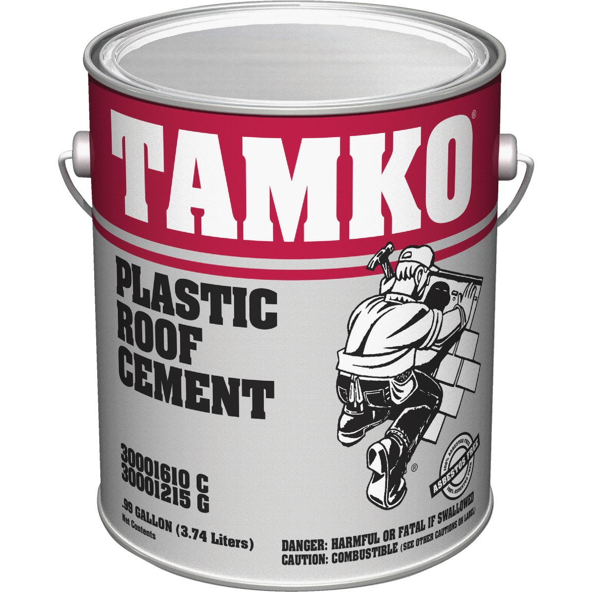 GAL PLASTIC ROOF CEMENT - 30001610 by Tamko Bldg Prod Inc
