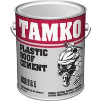 Tamko Build. Prod. Inc. GAL PLASTIC ROOF CEMENT 30001610