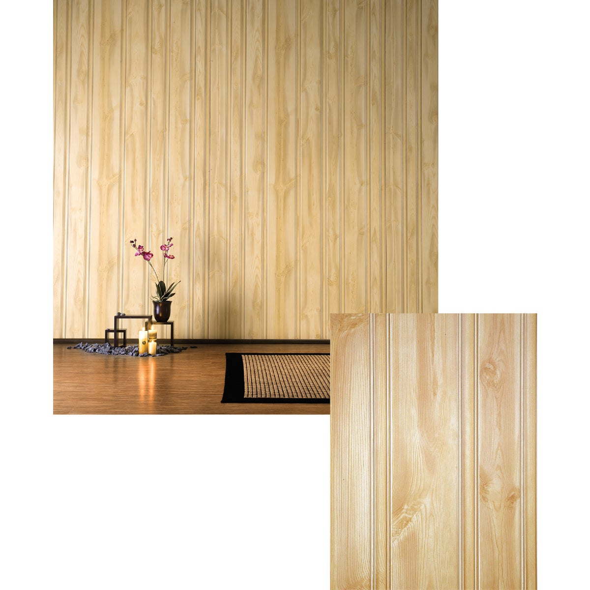 "3/16"" HONEY PINE PANEL - 164 by Dpi Decorative Panel"