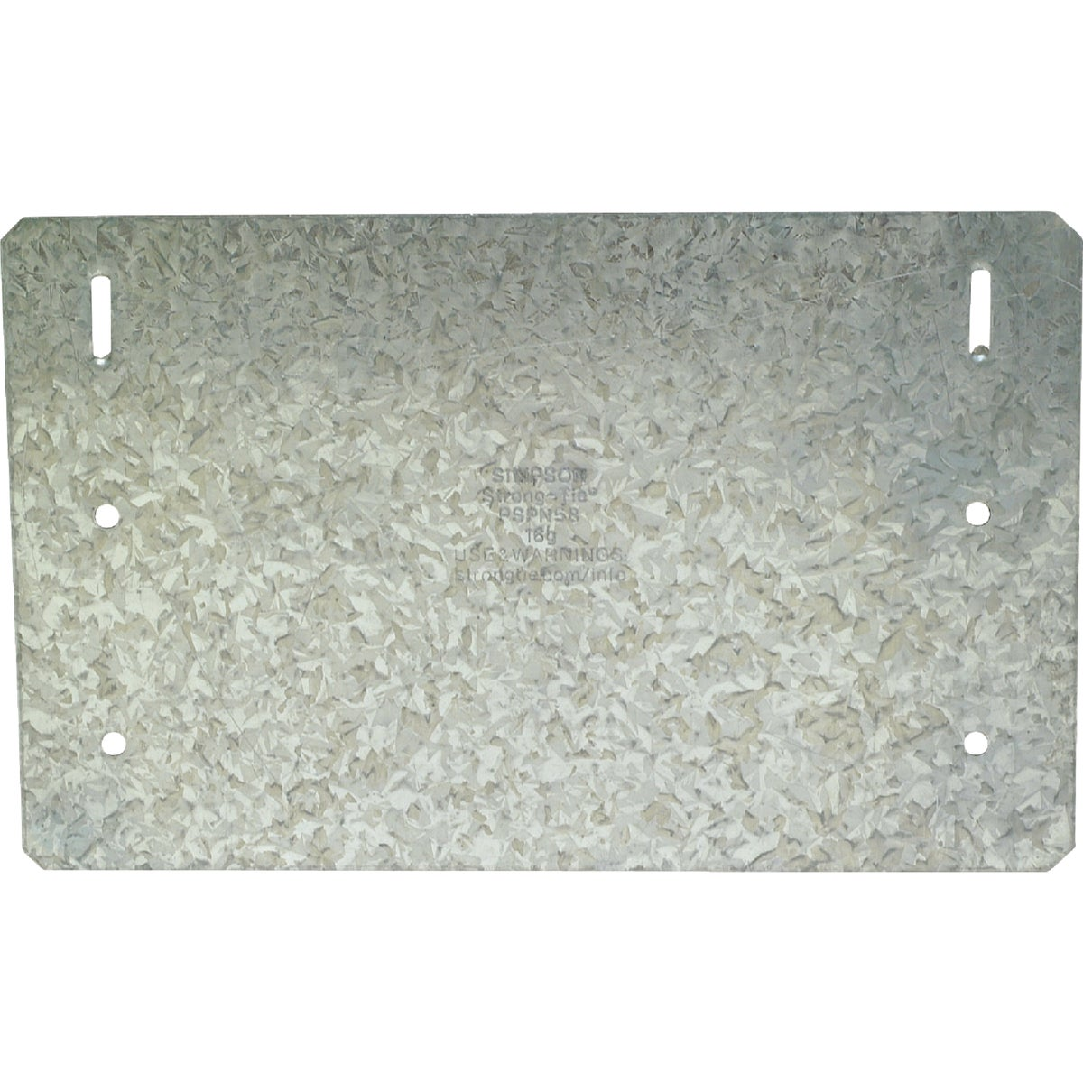 Simpson Strong-Tie 5X8 PROTECTIVE PLATE PSPN58