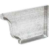 Galvanized Gutter End Cap