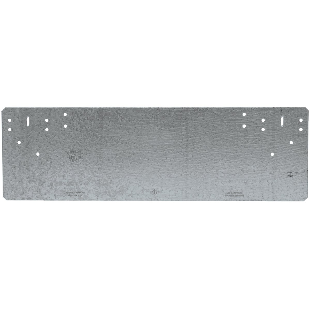 PROTECTIVE PLATE Z-MAX - PSPN516Z by Simpson Strong Tie