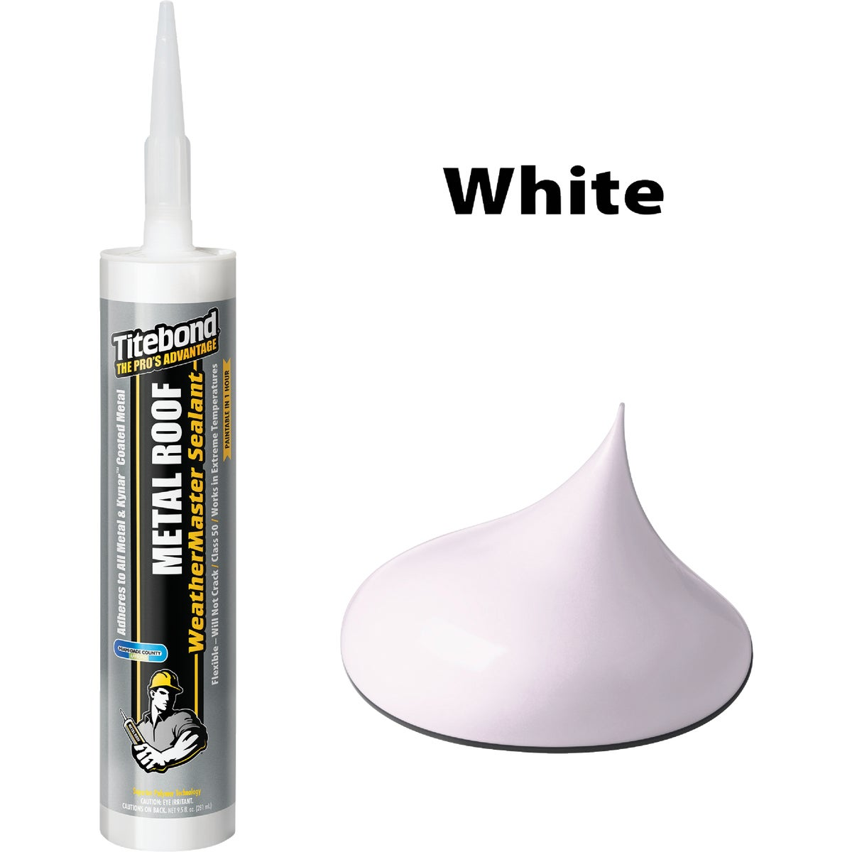 10OZ WHITE METAL SEALANT - 61001 by Franklin Interl