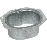 Galvanized C Wide Flange Outlet